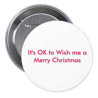 Es ACEPTABLE desearme Felices Navidad Pins