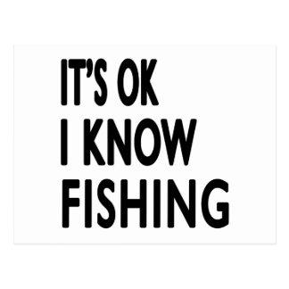 Es ACEPTABLE yo sabe danza de la pesca Postal