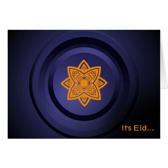 Es Eid - tarjeta de felicitación islámica