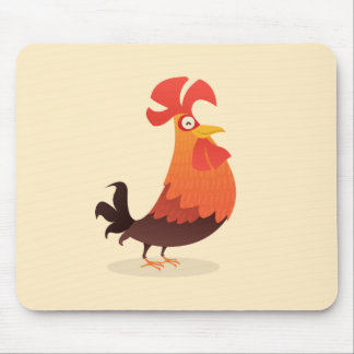 ¡Es el tiempo del gallo! Alfombrilla De Ratón