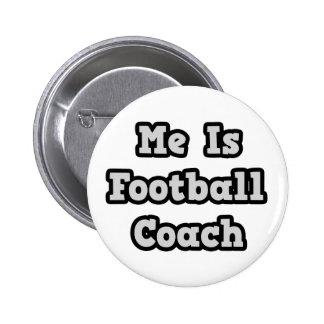 Es entrenador de fútbol pins