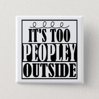 Es exterior de Peopley Introverts también el botón