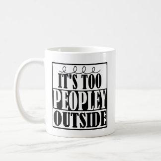 Es exterior de Peopley Introverts también la taza
