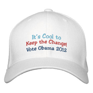Es fresco guardar el cambio, yo está adentro, Obam Gorras Bordadas