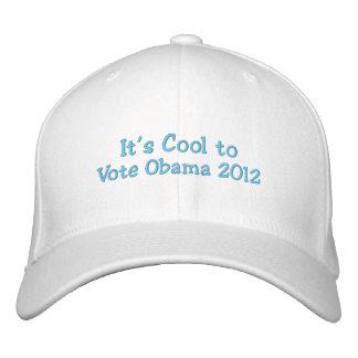 Es fresco votar a Obama 2012 Gorra De Beisbol