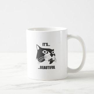 Es hermoso taza de café