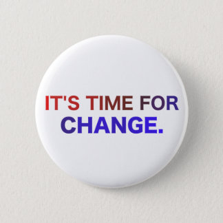 Es hora para el botón del cambio