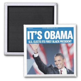 Es imán del título de Obama