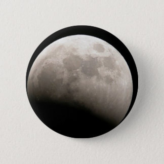 ¡Es la luna! Chapa Redonda De 5 Cm