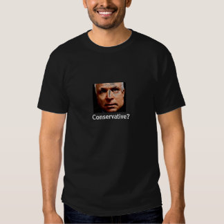 ¿Es McCain conservador? Camisetas