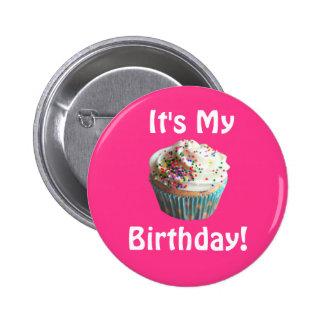 Es mi botón del cumpleaños