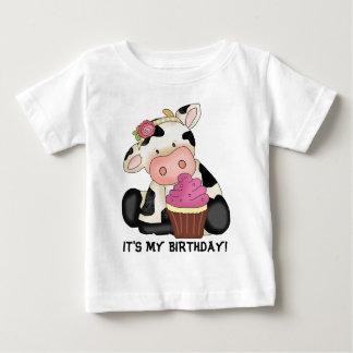Es mi camiseta de la vaca del cumpleaños