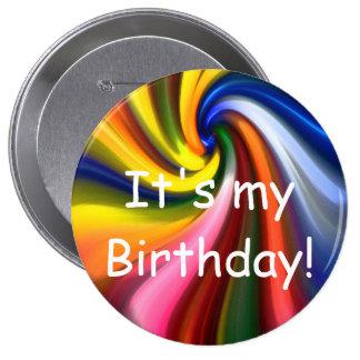 ¡Es mi cumpleaños! Botón