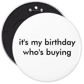 es mi cumpleaños que está comprando chapa redonda 15 cm