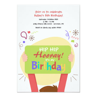 Es mi invitación del cumpleaños