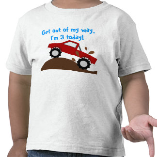Es mi monster truck del cumpleaños camisetas