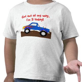 Es mi monster truck del cumpleaños camiseta