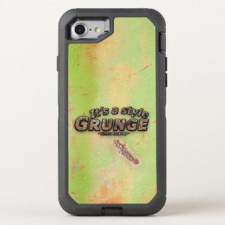 Es mis letras oxidadas del GRUNGE del estilo Funda OtterBox Defender Para iPhone 7