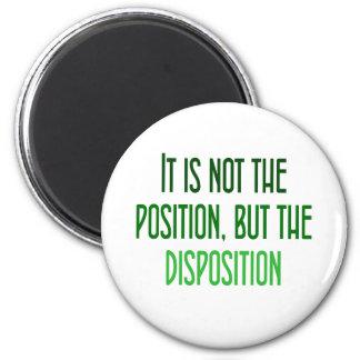 Es no el posición, sino la disposición iman para frigorífico