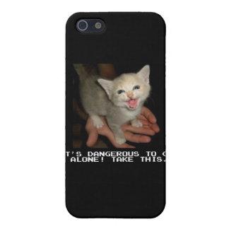 Es peligroso ir caso solo del iPhone iPhone 5 Protector