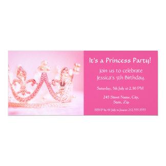 ¡Es princesa Party! Invitación del cumpleaños