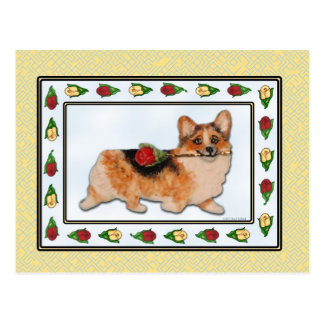 Es Rosie - postal tricolora del Corgi