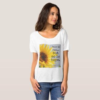 """""""Es tan el girasol de la esperanza"""" - estilos Camiseta"""