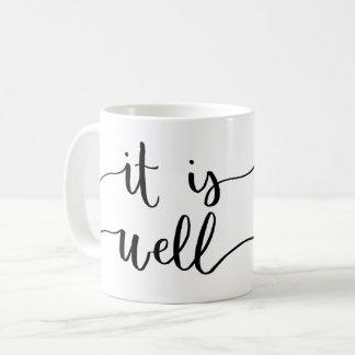 Es taza de café bien