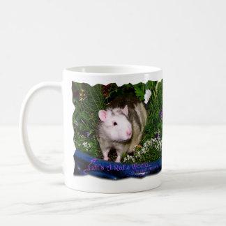 Es taza de la primavera del mundo de una rata
