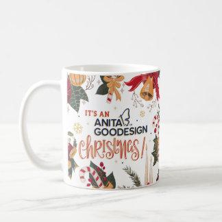 """""""Es taza del navidad de Anita Goodesign"""""""
