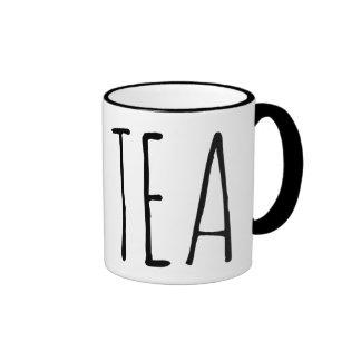 Es té taza a dos colores