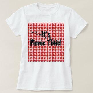 ¡Es tiempo de la comida campestre! Mantel a Camiseta