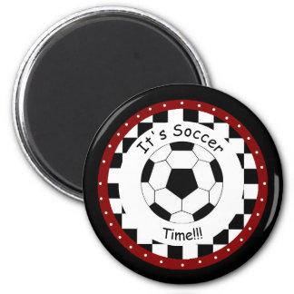¡Es tiempo del fútbol!  Imán