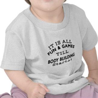 Es toda la diversión y juegos hasta que comienzo camisetas