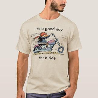Es un buen día para una camisa del paseo