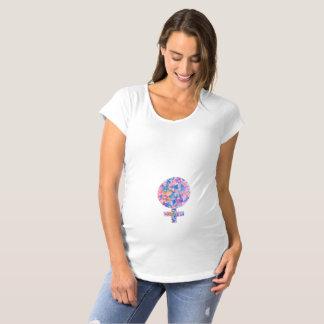 ¡Es un chica! Camisa de maternidad