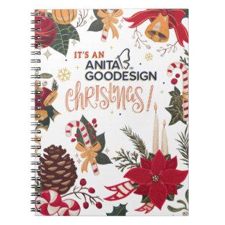 ¡Es un cuaderno del navidad de Anita Goodesign!
