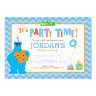 Es un fiesta de la galleta invitación 12,7 x 17,8 cm
