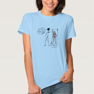 Es un Huggie Camiseta