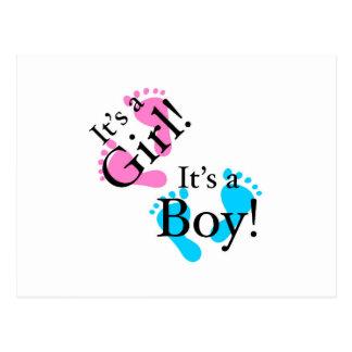Es un muchacho que es un chica - bebé recién nacid