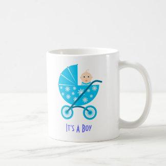 Es un muchacho: Reserva recién nacida del bebé la Taza De Café
