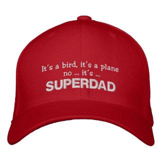 Es un pájaro, él es un avión ningún… él es… SUPERD Gorra Bordada