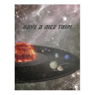 Es un universo musical tarjetas postales