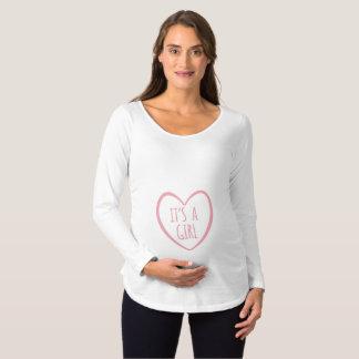 Es una camisa de la maternidad del CHICA
