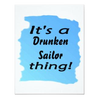 ¡Es una cosa borracha del marinero! Comunicado Personal