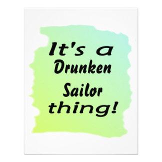 ¡Es una cosa borracha del marinero! Invitaciones Personalizada