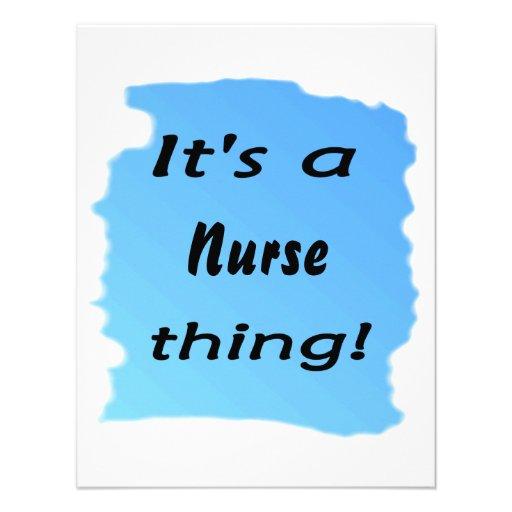 Es una cosa de la enfermera anuncios personalizados