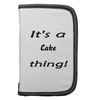 ¡Es una cosa de la torta! Organizadores