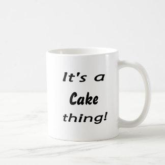 ¡Es una cosa de la torta! Tazas De Café