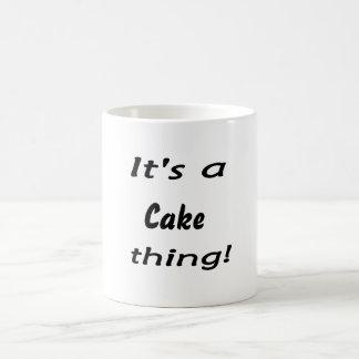 ¡Es una cosa de la torta! Tazas